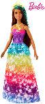 Media Markt BARBIE Dreamtopia Prinzessin Puppe (brünett und türkisfarbenes Haar) Puppe, Mehrfarbig