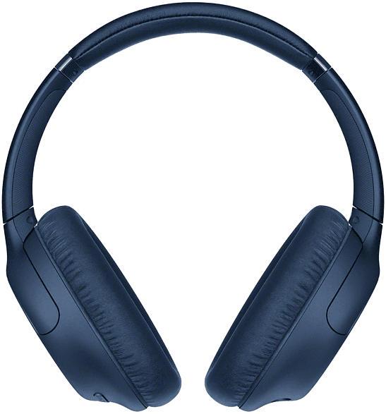 SONY WH-CH710N, Over-ear Kopfhörer Bluetooth Blau