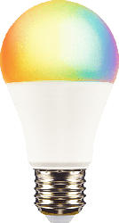 XLAYER Smart Echo LED Lampe E27, warm- und kaltweiß, mehrfarbig LED Smart Glühbirne