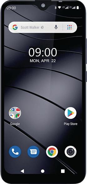 GIGASET GS110 16 GB Titanium Grey Dual SIM