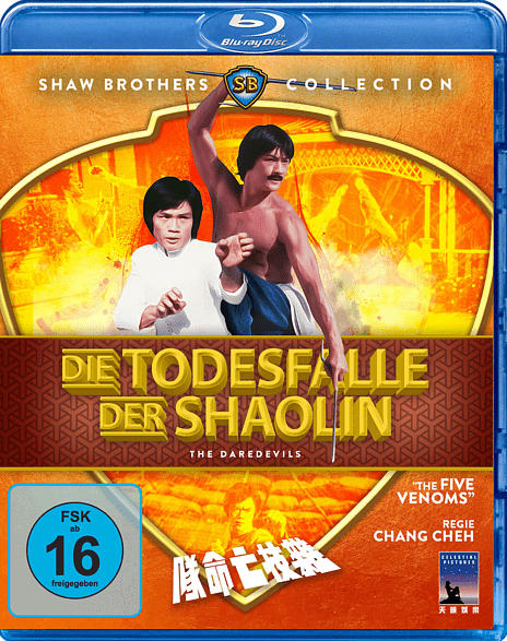 Die Todesfalle der Shaolin [Blu-ray]