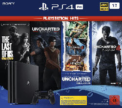 SONY PlayStation 4 1TB PRO (The Last of Us Hits,Uncharted: The Lost Legacy Hits,Uncharted Collection Hits + 4 Hits)