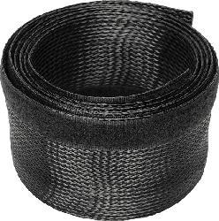 DIGITUS DA-90507 DIGITUS Flexibler Kabelschlauch mit Klettverschluss 2,0m in schwarz Flexibler Kabelschlauch, Schwarz