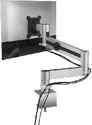 DURABLE Monitor Halterung, Silber
