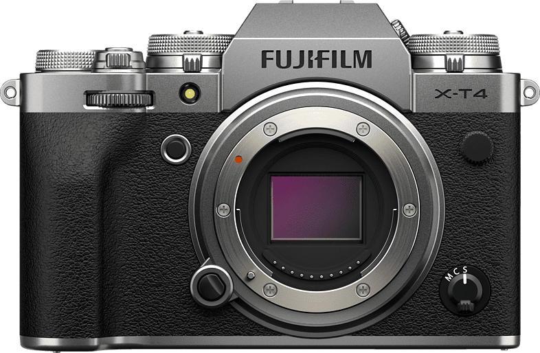 FUJIFILM X-T4 Systemkamera 26.1 Megapixel  , 7.6 cm Display   Touchscreen, WLAN