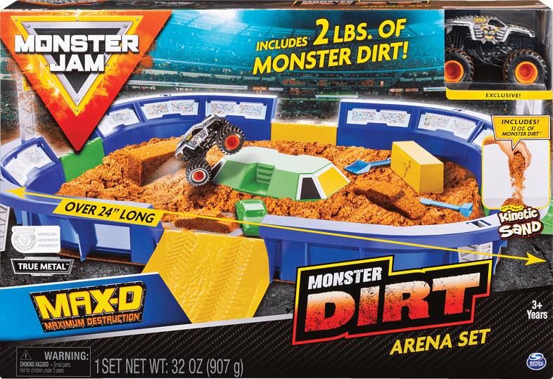SPIN MASTER MNJ Monster Jam Dirt Arena Spielzeugset, Mehrfarbig