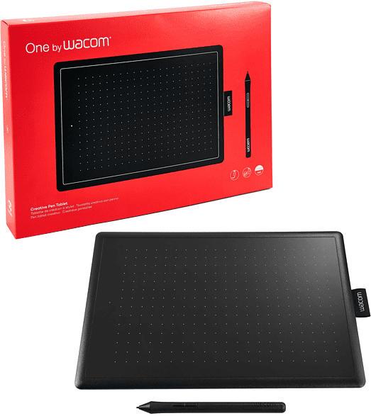 WACOM CTL-672-M Graphic Tablet, Schwarz/Rot