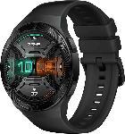Media Markt HUAWEI  Huawei Watch GT 2e (Hector B19S) Smartwatch Metall, Kunststoff, Fluorelastomer/Thermoplastisches Polyurethan, 140-210 mm, Graphite Black