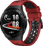 Media Markt HUAWEI  Huawei Watch GT 2e (Hector B19R) Smartwatch Metall, Kunststoff, Fluorelastomer/Thermoplastisches Polyurethan, 140-210 mm, Lava Red