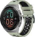Media Markt HUAWEI  Huawei Watch GT 2e (Hector B19C) Smartwatch Metall, Kunststoff, Fluorelastomer/Thermoplastisches Polyurethan, 140-210 mm, Mint Green
