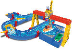 MediaMarkt BIG AquaPlay ContainerPort Spielset, Mehrfarbig