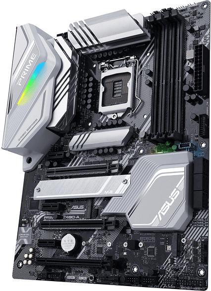 ASUS PRIME Z490-A Mainboard Schwarz