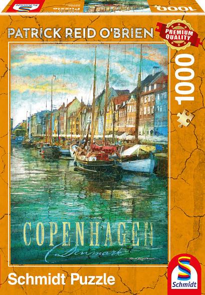 SCHMIDT SPIELE (UE) Kopenhagen Puzzle, Mehrfarbig