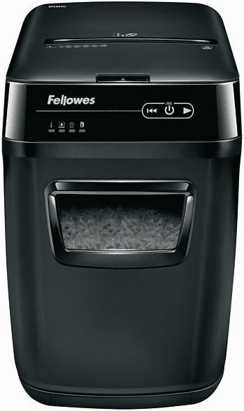FELLOWES Fellowes® AutoMax™ 200C Autofeed Aktenvernichter, Schwarz