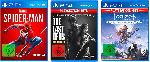 MediaMarkt PlayStation Bundle (The Last of Us: Remastered, Marvels Spider-Man, Horizon Zero Dawn Complete Edition) Nur Online [PlayStation 4]