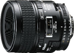 NIKON AF Micro-Nikkor 60mm F2,8D 60 mm f/2.8  (Objektiv für Nikon F-Mount, Schwarz)