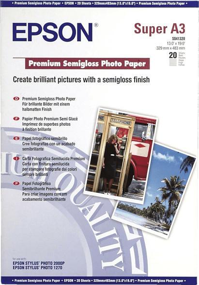 EPSON C13S041328 Fotopapier A3+  A3