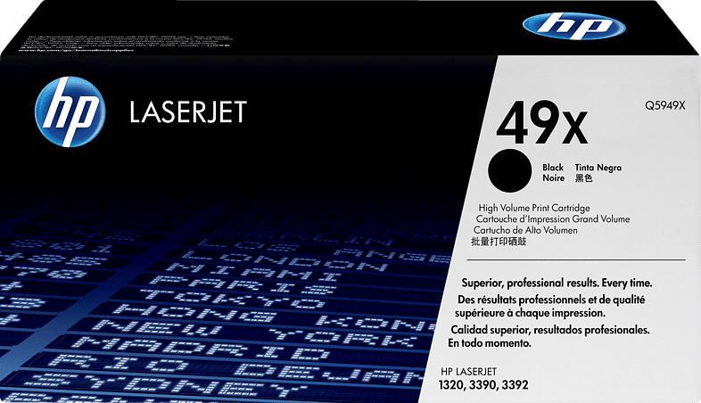 HP 49X Toner Schwarz
