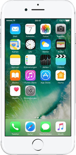 APPLE iPhone 7 32 GB Silber