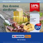 Konsum Dresden Wöchentliche Angebote - bis 01.08.2020