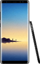 Galaxy Note 8 Duos 64GB mit 2 Sim Kartenslots (SM-N950F/DS), schwarz