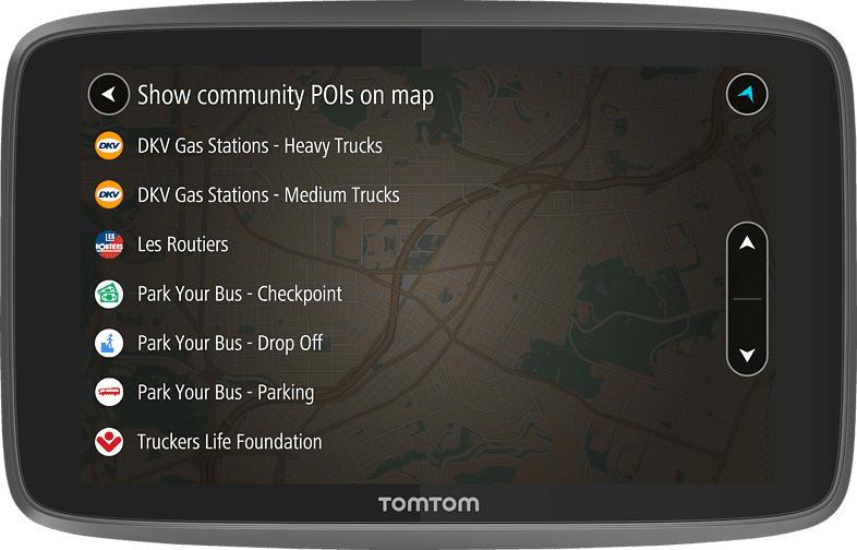 TOMTOM Go Professional 6250 LKW, Bus Europa