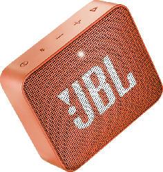 JBL GO2 Bluetooth Lautsprecher, Orange, Wasserfest