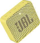 MediaMarkt JBL GO2 Bluetooth Lautsprecher, Gelb, Wasserfest