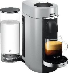 DELONGHI Nespresso VertuoPlus ENV155.S Kapselmaschine, Silber