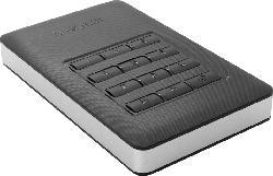 VERBATIM 53401 Secure Portable HDD USB 3.1 mit Keypad, 1 TB HDD, 2.5 Zoll, extern