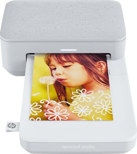 HP Sprocket Studio Thermosublimations-Technologie Fotodrucker