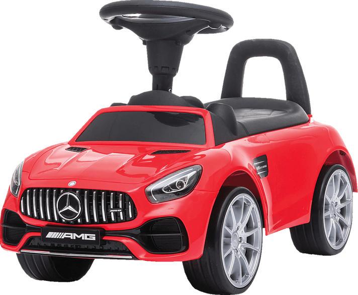 JAMARA Rutscher Mercedes-Benz AMG GT rot Kinderrutscherauto, Rot