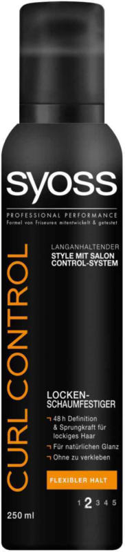 Syoss Schaumfestiger Curl Control Starker Halt 250 ml -