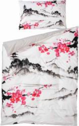 Bettwäsche mit japanischer Landschaft -  (Preis für kleinste Grösse)