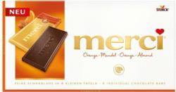 Merci Orange-Mandel Tafel