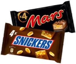 Mars, Twix oder Snickers