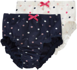 3 Baby Slips mit Punkten allover (Nur online)