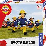Media Markt KOSMOS 697754 Feuerwehrmann Sam - Wasser Marsch! Kinderspiel, Mehrfarbig