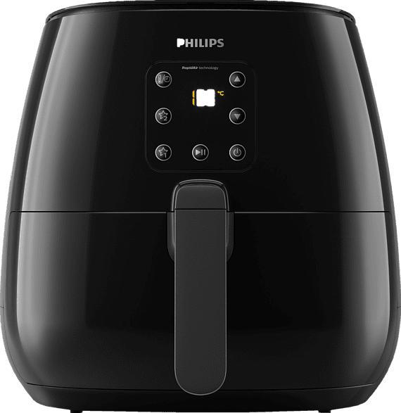 PHILIPS HD 9260/90 AIRFRYER XL Heißluftfritteuse, Deep Black