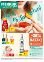 MERKUR Flugblatt 30.7. bis 5.8. Oberösterreich
