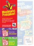 Maximarkt Maximarkt Flugblatt Flappe - bis 14.08.2020