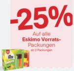 MPREIS Wels Traunpark -25% auf alle Eskimo Vorratspackungen - bis 09.08.2020