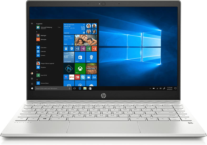 Notebook Pavilion 13-an1610ng, i5-1035G1, 8GB RAM, 512GB SSD, Mineral Silver (7ZP91EA)