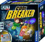 Media Markt KOSMOS EXIT Kids - Code Breaker, Kinderspiel mit elektronischem Schloss Gesellschaftsspiel, Mehrfarbig