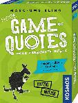 MediaMarkt KOSMOS More Game of Quotes Kartenspiel, Mehrfarbig