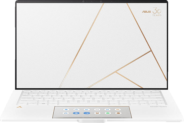 ASUS ZenBook 13 (UX334FL-A4021R), Notebook mit 13.3 Zoll Display, Core™ i7 Prozessor, 16 GB RAM, 1 TB SSD, GeForce MX 250, White