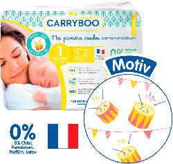 Carryboo Ökowindeln Größe 1 Newborn, 2-5kg, Einzelpack