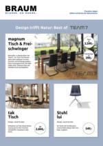 Design trifft Natur: Best of TEAM 7