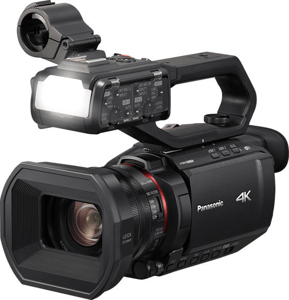 PANASONIC HC-X2000E Camcorder 4K, FullHD , 24 fach opt. Zoom