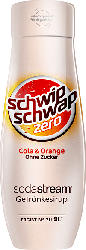 SODASTREAM 1924210490 SST SCHWIPSCHWAP O. Z.  Sirup Cola-Orange ohne Zucker